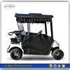 Golf Cart Cover - 2 Passenger Universal Storage Cover With Air Vents, Zipper And Elastic Hem