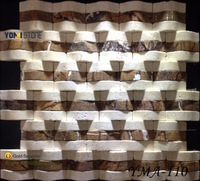 Hot Sale Black Dot Basketweave Ceramic Mosaic Tile For Wall