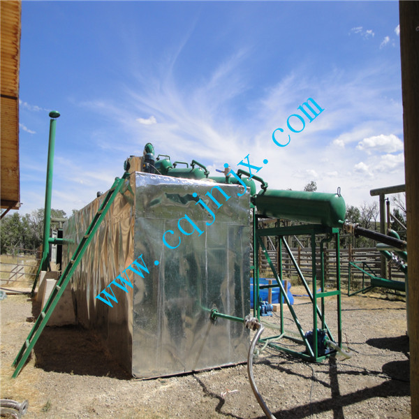 used transformer oil purification with weather-proof canopy