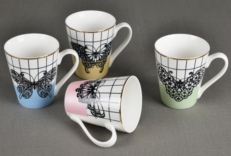 Reliable Various Size Decorative Ceramic Mugs