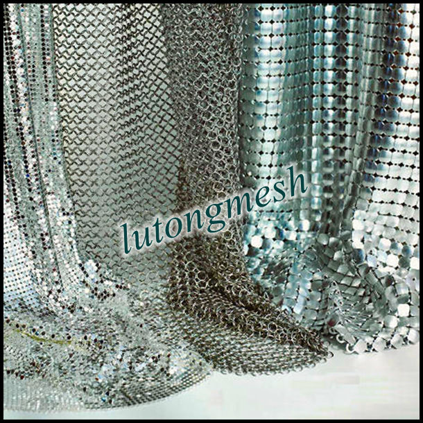 Metal mesh fabric for clothing/Sequin cloth