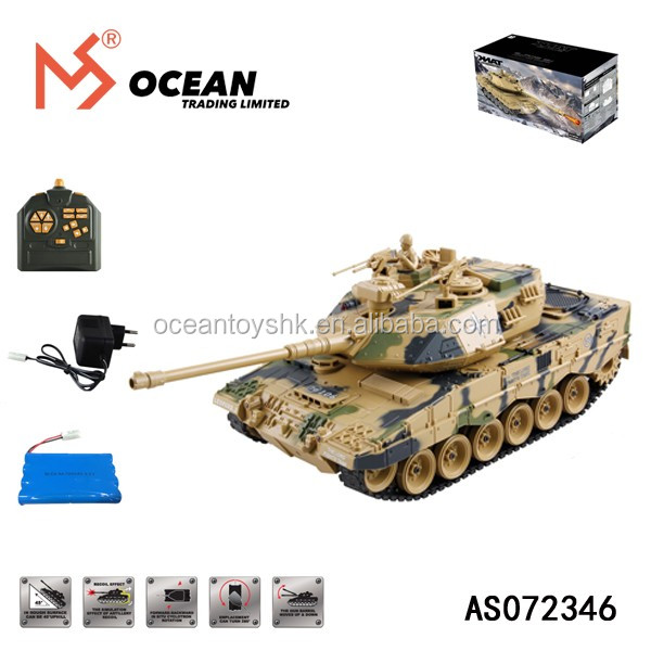 Germany Leopard 2 A7 henglong rc tank 1/6
