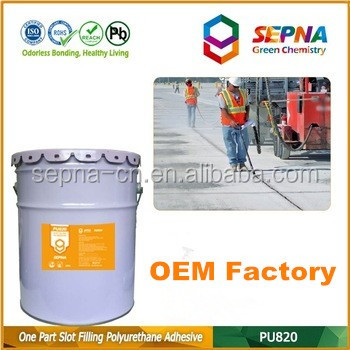 Professional grade polyurethane self-leveling Waterproof Excellent weathering resistance highway sealant