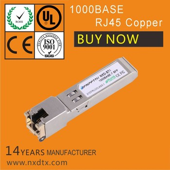 OFNPFTTH high quality 10g sfp copper rj45 module