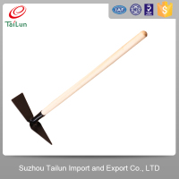 wooden handle hand digging farm tools and names pickaxe