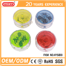 HY5801 Professional custom logo yoyo LED safety plastic cheap yoyo