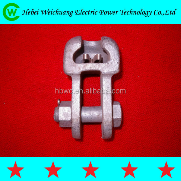 high quality electrical socket clevis/ball clevis for overhead line fittings