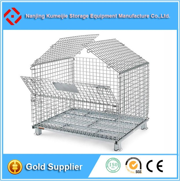 Customised Folding Metal Mesh Dog Cage