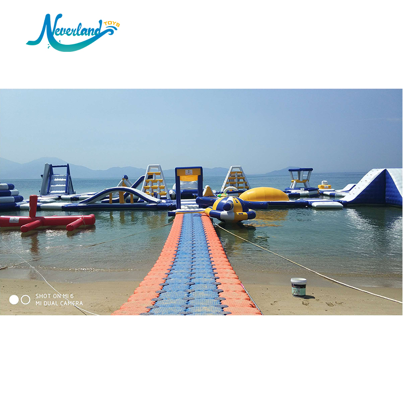 Outdoor Games Design Huge Aqua Amusement Playground Inflatable Theme Floating Obstacle Water Park Sports Equipment For Adult