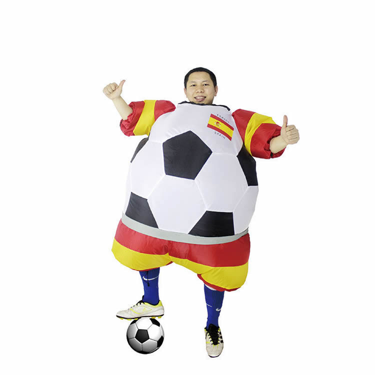 inflatable football costume (moving,game,party,event)