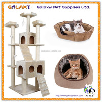 wholesale detachable cat house; one piece cat house; cat pattern blanket