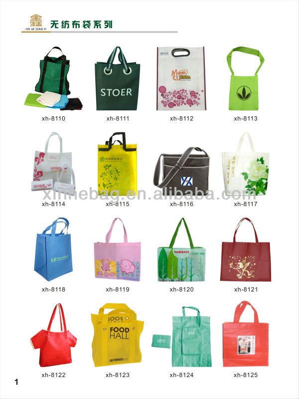 eco tote pp laminated nonwoven bag ,shopping non woven bag