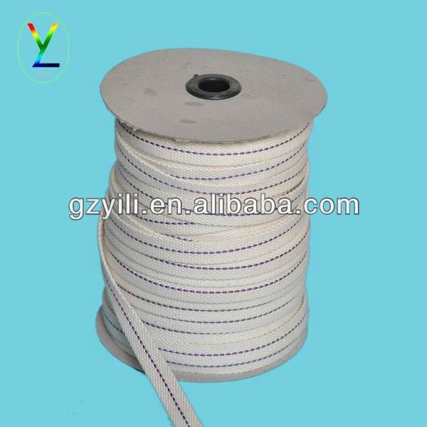 25mm white cotton tape /webbing/belt
