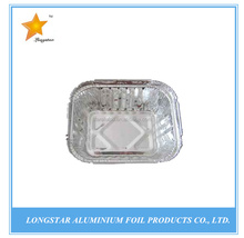 ISO FDA SGS Certification sample free airline dispoesable aluminum foil container