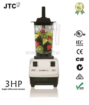 Power Juicer, Commercial Blender, No.1 Quality In The World, JTC Blender