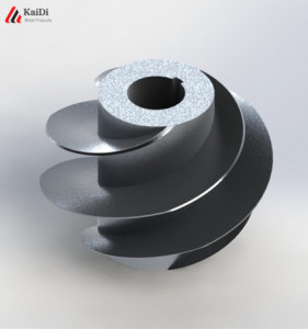 investment casting water pump impeller