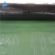 Construction Strong cross-membrane composite self-adhesive waterproof rolling material