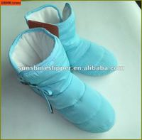 women winter indoor boots/down boots PP foam filling inner soft and warm ST9121
