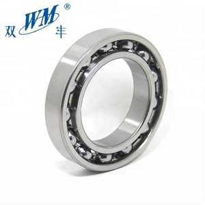 MLZ WM BRAND Gcr15 Deep Groove Ball bearing 6203 2RS with screw type