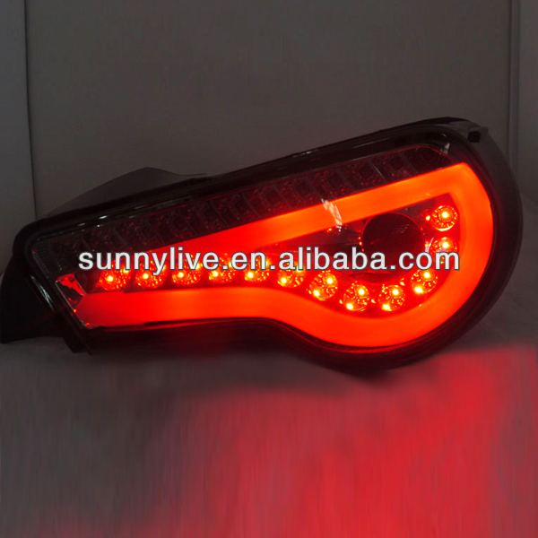For TOYOTA 86 LED Strip Tail Lamp 2013- Smoke Black Color