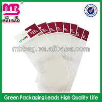 clear self adhesive game card packaging bags