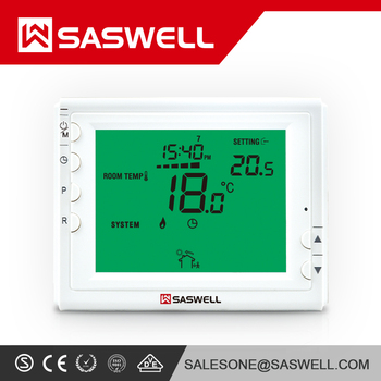 Hot sale frequency 433MHZ wireless thermostat for boiler control