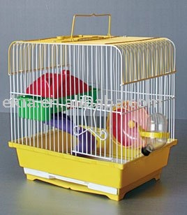hamster cage and hamster accessories