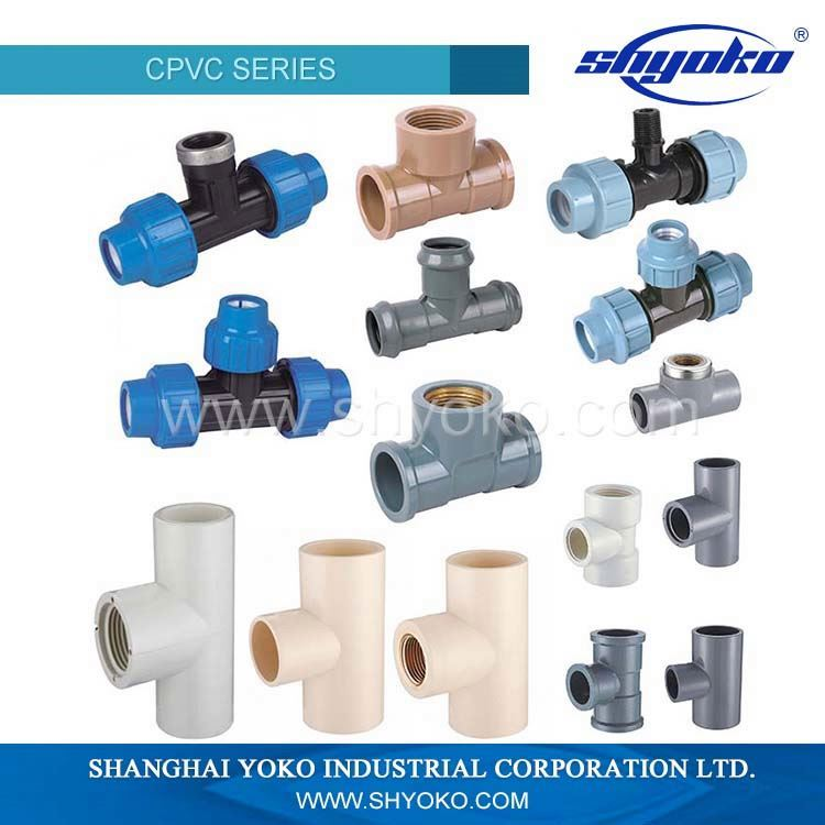 Professional Manufacturer Supplier pvc fitting 3 way elbow