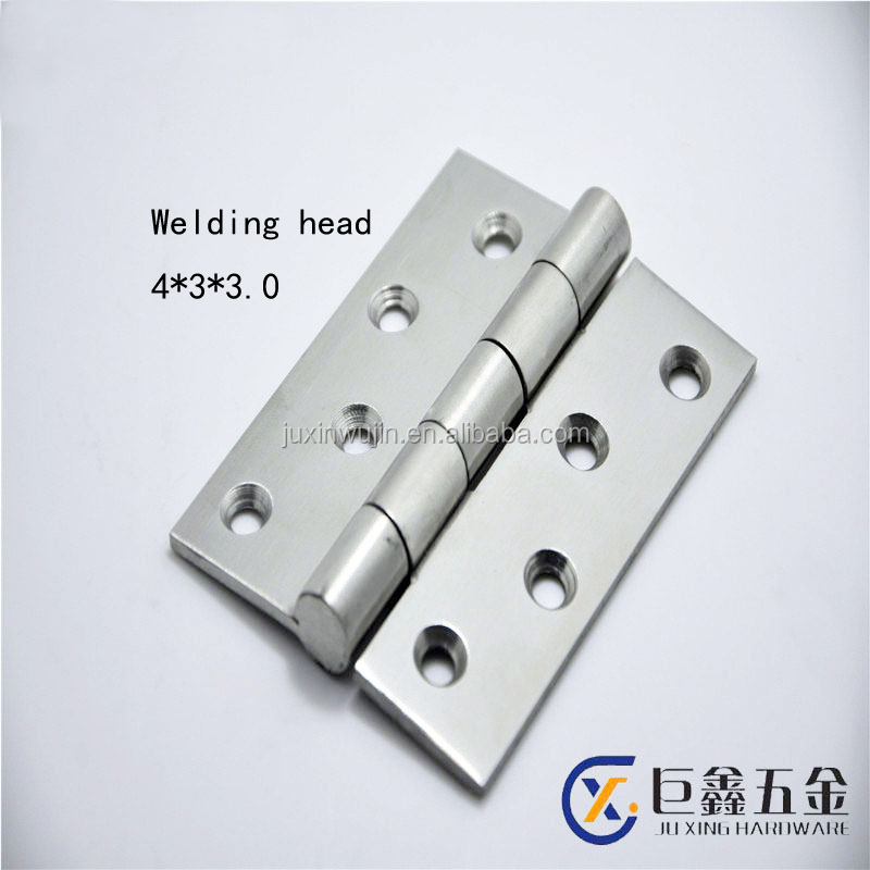 Stainless steel 4 inch length wooden door/window hinge