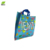Soft Loop Handle Clear PE PO Plastic Packing Shopping Carry Tote Bags Custom Logo