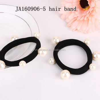 Wholesale cute design girls diamond elastic hailband good quality