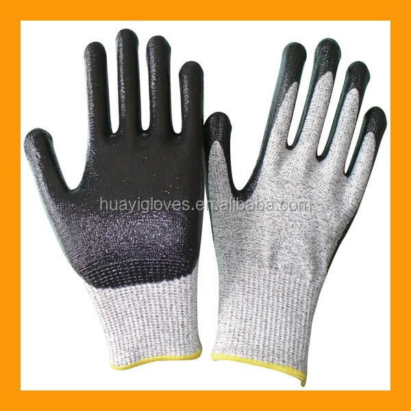 Smooth Nitrile Cut&Chemical Resistant Gloves