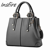 high quality Leisure design soft leather bag waterproof handbag women leather bag