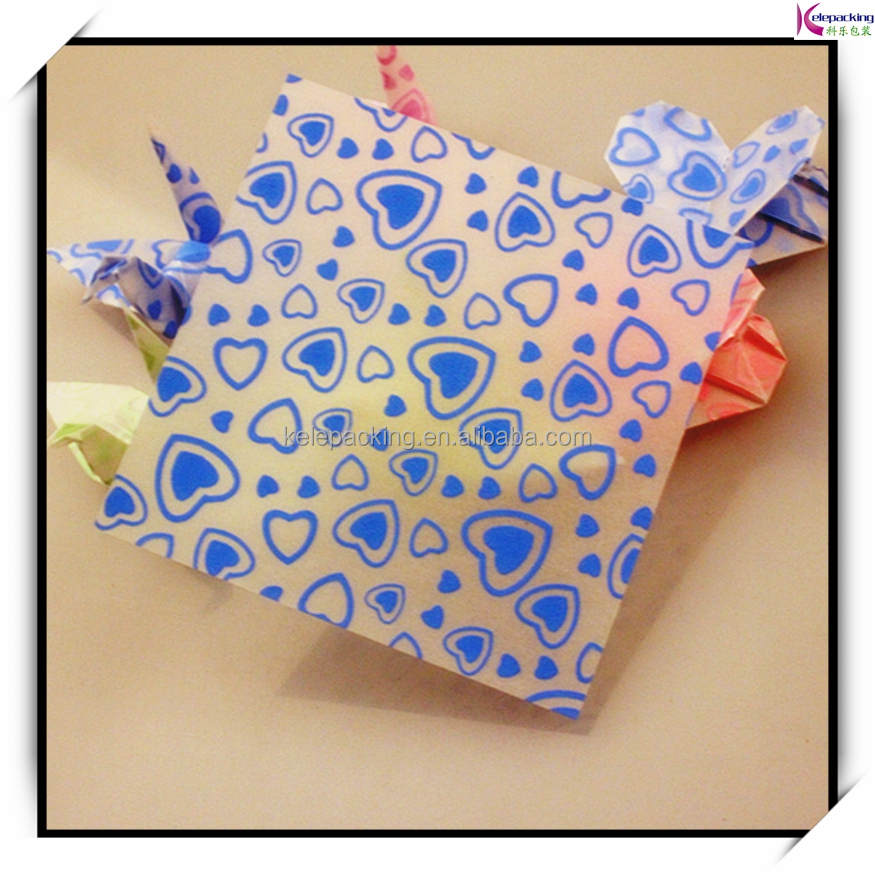 Handmade Colorful Lucky Star wrapping paper