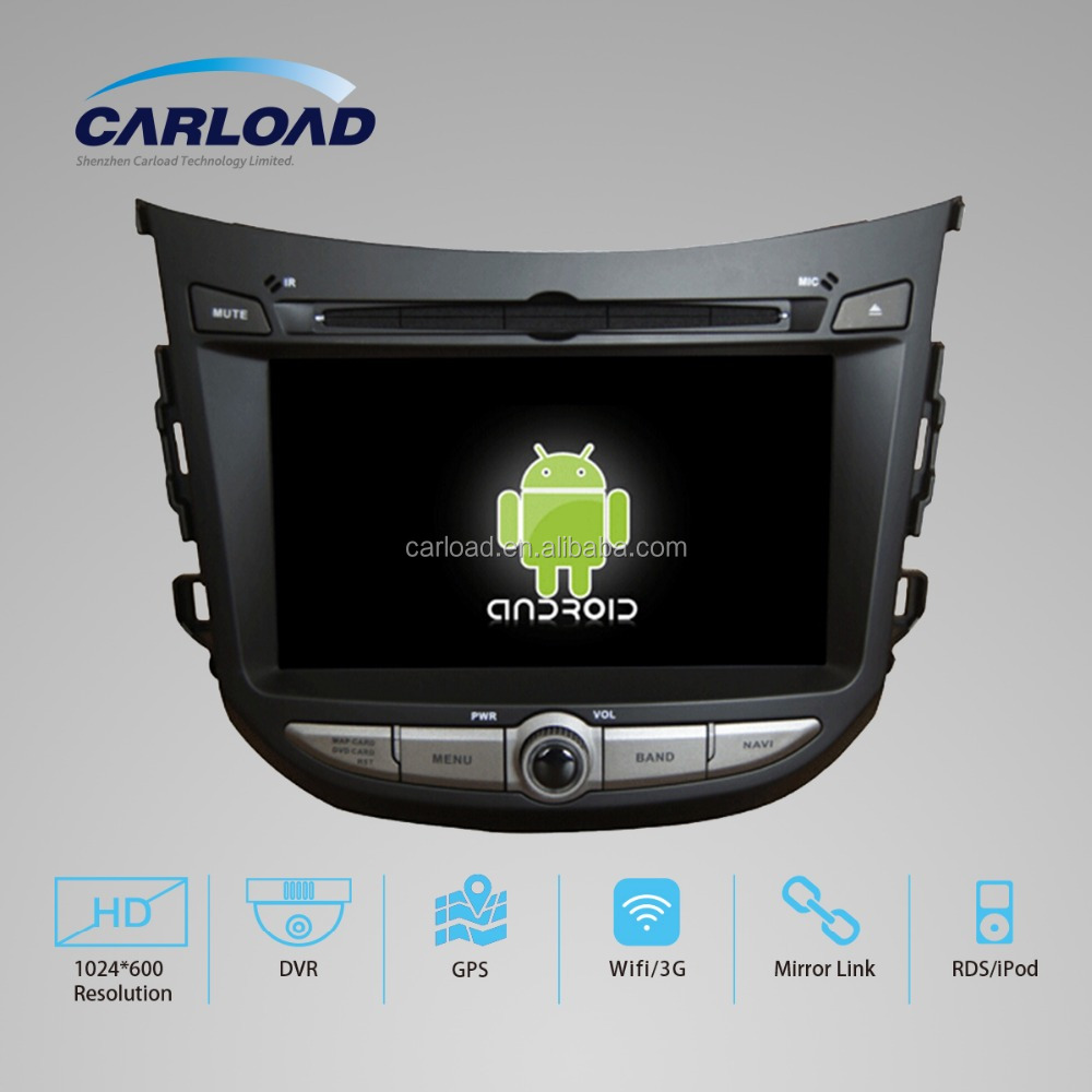 7in Android 2 din car dvd with touch screen android hyundai HB20 with GPS, iPOD, TV, RDS, Wifi, 3G, mirror functions