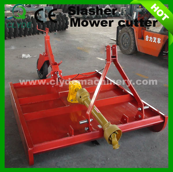 Tractor Mounted Brush Cutter : Small farm tractor mounted rotary mower view