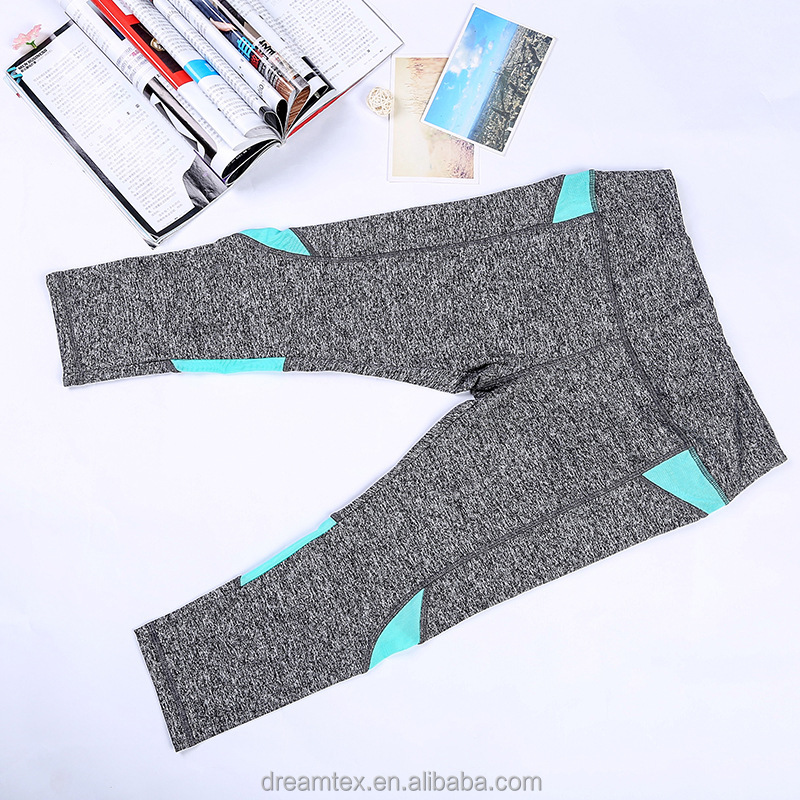 High quality Sexy Women fitness Comfortable cropped Yoga pants high elastic gym pants outdoor jogging wear