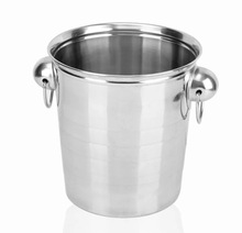 5 liter Stainless Steel Beer Ice Bucket Champagne Ice Buckets with opener