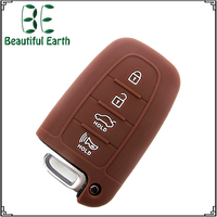 Promotion Gift 4 Button Silicone Car Key frequency for Hyundai