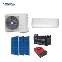 9000btu-36000btu Solar Air Conditioning DC 48V Off Grid 100% Solar Powered Air Conditioner
