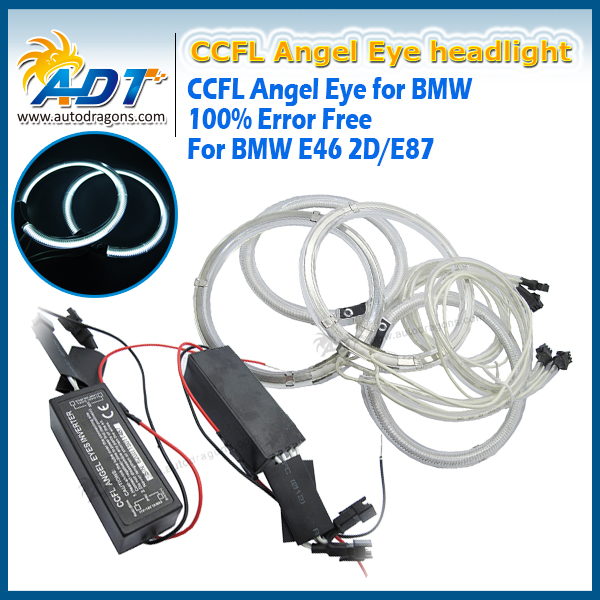 CCFL Angel Eyes Kit superWhite Halo Ring 105mm For E36 E38 E39 E46 (With Original Projector)