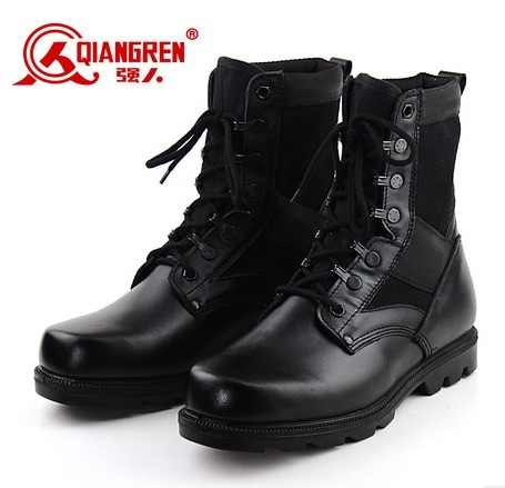 Wholesale top sale military boots 2017 army shoes
