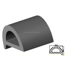 D boat rubber fender rubber dock bumper pad fender strip