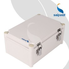 Saip/Saipwell Waterproof ABS High Quality Best Price Twist Latch Hinged Cover CE IP 66 Battery Box