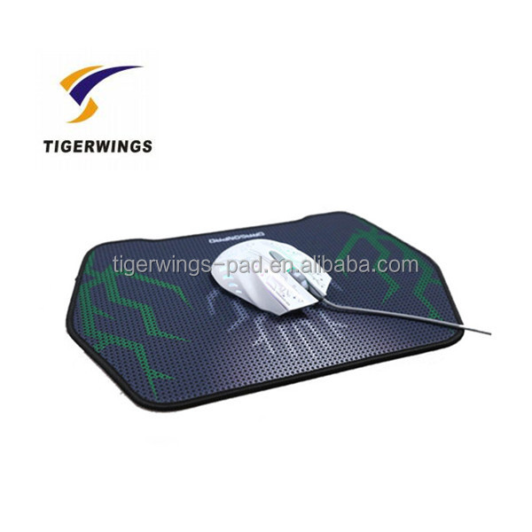 Tigerwingspad smooth colorful desk warm hand gaming mouse pad