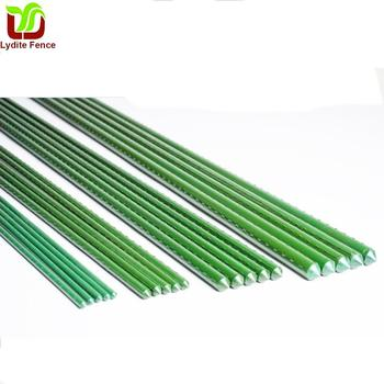 Plastic Coated Steel Garden Stakes