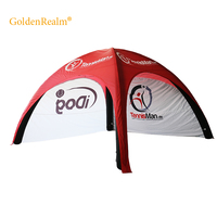 6m*6m China outdoor Advertising customized printing promotional x-gloo inflatable tent