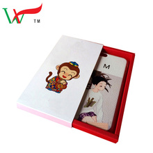 Mixed color craft paper phone case packaging box