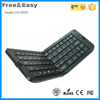 Folding wireless bluetooth mini keyboard for smartphone