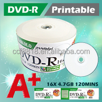 TAIWAN A+ DVD-R Printable, blankdisc 4.7GB production line sellers only wholesale